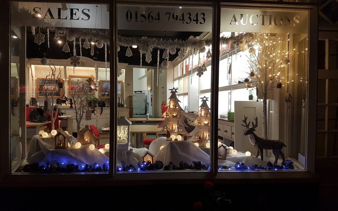 Henley in Arden Christmas Window Competition