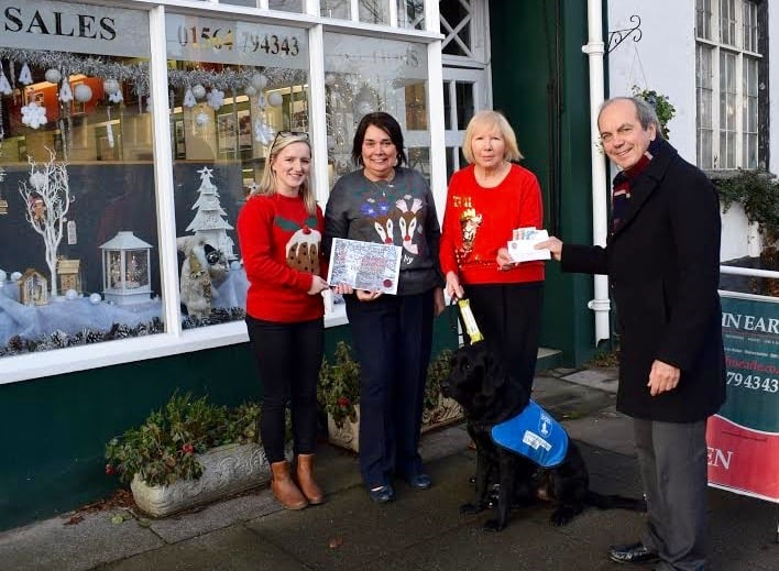 Christmas Window Competition – Donation to Charity